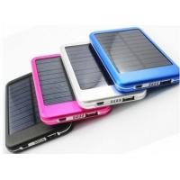 Buy cheap 5000mAh Portable Solar Power Bank Rechargeable Batteries Charger Waterproof from wholesalers