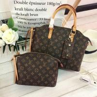 Buy cheap LV CLASSIC THREE PIECE SUIT 12CM LEATHER HAND HELD,MONOGRAM CANVAS LEATHER WITH SIMPLE FASHIONABLE DESIGN AND OUTFIT... from wholesalers
