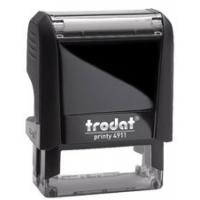 Buy cheap Trodat printy 4911 rubber Custom Self Inking Stamps, Stock office stamp, Signature stamps from wholesalers