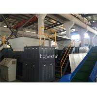 Buy cheap Waste Plastic Twin Shaft Shredder Machine Long Service Life Plastic Recycling from wholesalers