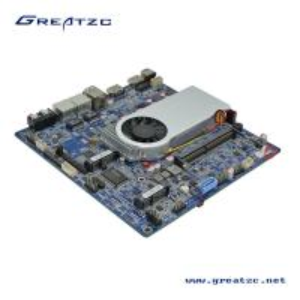 Buy cheap Skylake i5 6200u CPU Industrial PC Motherboard , Mini Itx Dual Lan Motherboard 2 HDMI from Wholesalers