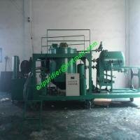 Buy cheap waste engine oil Vacuum distillation to diesel oil purifier,diesel fuel oil recycling machine System from wholesalers