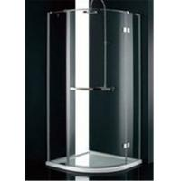 Stainless steel frame glass bathroom shower enclosures b B q bathroom design service
