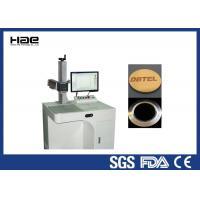Air Cooling Desktop Fiber Laser Marking Machine For Electronic Product