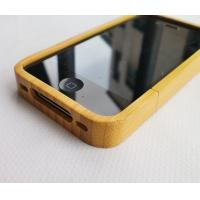 Buy cheap Eco-Friendly Iphone 4 Carbonized Bamboo Hard Shell Case from wholesalers