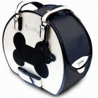 Buy cheap Bike Pet Carrier with Glossy/Pearly Finish and Black Rim from wholesalers