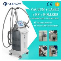Buy cheap 3 handles vacuum roller  vela shape body contouring fat reduction machine from wholesalers
