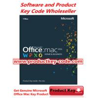 Quality Microsoft Office Product Key Codes, Microsoft Office For Mac 2011 Home and Business FPP ESD Key Code for sale