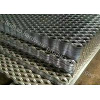 Buy cheap 48 '' X 96 '' Galvanized Expanded Metal Catwalk Grating for Walkways And Stairs from wholesalers