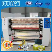 Buy cheap GL-215 Factory outlet bopp tapes slitting and rewinding machine from wholesalers