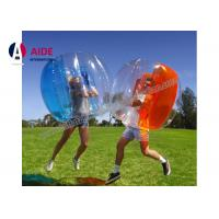 Buy cheap Customized Inflatable Ball Game Inflatable Soccer Bubble Ball Knock Child Ball For School from wholesalers