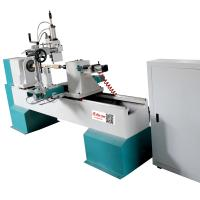 Buy cheap 4kw rotating motor CNC Wood Carving lathe machine with spindle from wholesalers