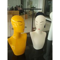 Buy cheap Female necklace mannequin with make up from wholesalers