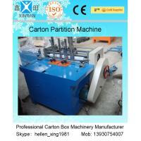 High Speed Auto Carton Cutting Machine , Corrugated Board Printing Machine
