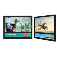 Buy cheap Double Screen Wall Mounted Advertising LCD  Display For Elevator from wholesalers