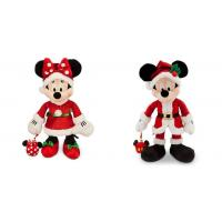 Buy cheap Fashion Christmas Mickey Mouse and Minnie Mouse Disney Plush Toys 40cm from wholesalers