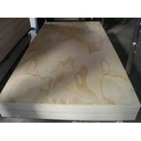 Buy cheap 12mm 4' * 8' nature wood veneer faced plywood from wholesalers