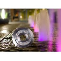 Buy cheap 12v / 24v 9watt Underwater LED Lights For Fountains / LED Waterfall Lights from wholesalers