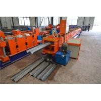 Buy cheap Two Waves Highway Guardrail Roll Forming Machine , Steel Roll Forming Machine  from wholesalers