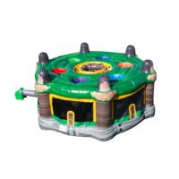 Buy cheap Green Funny Indoor Inflatable Whack - a - mole Game For Children BV CCC UL from wholesalers