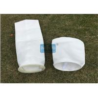 Buy cheap Super Long Life Liquid Filter Bags With Glazed Layer Securing Downstream Matrix from wholesalers