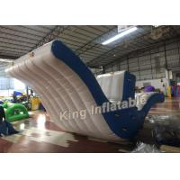 Buy cheap Exciting 0.9mm PVC Blue Fly Bird Inflatable Slide Water Park for Water Sports from wholesalers
