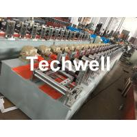 Buy cheap Custom-made Octagonal Aluminum Or Galvanized Steel Tubing Roll Forming Machine With PLC Frequency Control from wholesalers