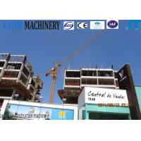 Buy cheap Installation support 10t QTZ100(6018) fixed Tower Crane specification product