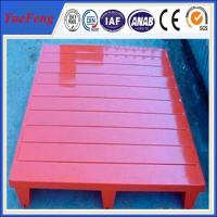 Buy cheap Painting/powder coating red color aluminum alloy pallets, pallets for sale from wholesalers