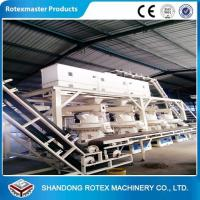 Buy cheap Wheat Straw Rice Husk Wood Pellet Production Line With 12 Months Warranty from wholesalers