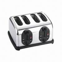 Buy cheap Stainless Steel Toaster with Defrost/Reheat/Bagel/Cancel Functions and 220 to 240V Power Supply from wholesalers