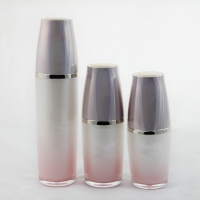 Buy cheap 50ml 100ml Serum Airless Plastic Lotion Bottles With Pump Sprayer product