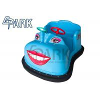 Buy cheap Attractive Blue / Green Electric  Kids Bumper Car Amusement Ride from wholesalers