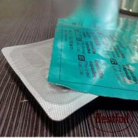 Buy cheap Printed/unprinted aluminium foil blister for pharmacy pill packing from wholesalers