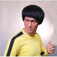 Buy cheap Kung Fu Star Bruce Lee Wax Figure Life Size Resin Sculpture Item Name Custom Crafts from wholesalers