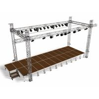 Buy cheap High quality aluminum truss stage truss Spigot truss light truss from wholesalers