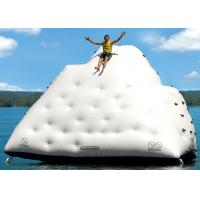 Buy cheap 6m Inflatable floating iceberg, water climbing hill, inflatable water sport toys from wholesalers