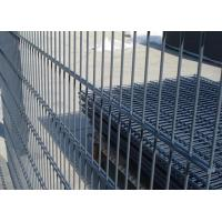 Buy cheap Galvanized / PVC Coated Steel Wire Fencing , Double Wire Mesh Fence For Garden from wholesalers