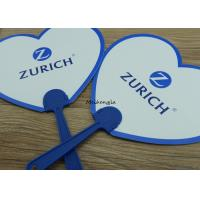 Buy cheap Summer Portable Round Plastic Hand Held Fans For Promotional Gifts from wholesalers