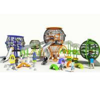 Buy cheap Freestanding Small Commercial Playground Equipment Spherical With Stainless Steel Slide from wholesalers
