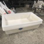 Buy cheap 350L food grade lldpe  rotomolding tank plastic garden pond hydroponics grow bed aquaponics tank  aquaponics tank from wholesalers
