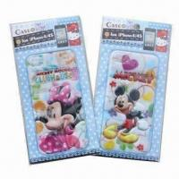 Buy cheap 3-D Puffy and Foam Stickers for iPhone, Mickey and Minnie, Customized Designs are Accepted from wholesalers