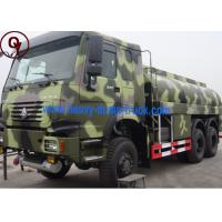 Buy cheap 20000L Capacity 6x6 All Wheel Drive Gasoline Tanker Truck ISO / SGS Approval from wholesalers