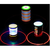 Buy cheap Led toy peg-top gyro with music and rotation from wholesalers