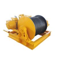 Buy cheap Engine Powered Fast Speed Winch , Heavy Duty Carbon Steel Cable Pulling Winch from wholesalers
