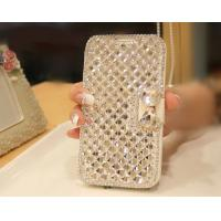 Buy cheap Extreme Deluxe Bling Diamond Bowknot Leather cell Phone Cases , Samsung S3Cases from wholesalers
