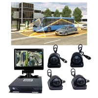 Buy cheap 3D Bird's Eye HD Panoramic 360 Degree Camera For Bus Night Vision Surround View from wholesalers