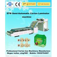 Buy cheap Double Row Recycled Corrugated Carton Machinery 15kw With 5-Layer Cardboard from wholesalers