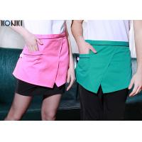 Buy cheap Restaurant Custom Cooking Aprons With Pockets , Front Slit Cute Waitress Aprons from wholesalers