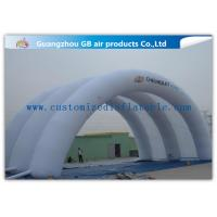 Buy cheap White Inflatable Arch Tent / Inflatable Tunnel Tent With Oxford Cloth Material product